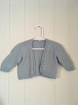 Vintage Baby Cardigan Size 0-3 Months
