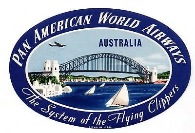 US Pan American World Airways -Australia- The System of the Flying Clippers-Cind