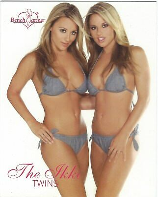 Bench Warmer 2004 Jumbo Card 4 Of 8 The Ikki Twins Good+ Condition