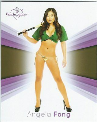 Bench Warmer 2015 Jumbo Card 15 Angela Fong Good+ Condition