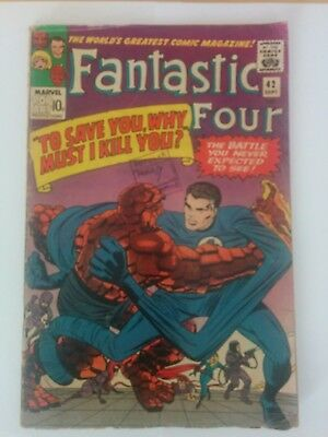 FANTASTIC FOUR #42, Marvel Comics (1965)