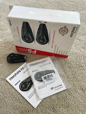 Interphone F5MC Single in Box with New Accessories