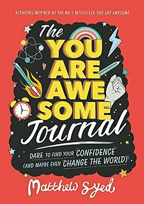 You Are Awesome Journal by Matthew Syed New Paperback Book