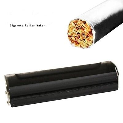 Metal Manual Cigarette Tobacco Smoking Roller Maker Rolling Machine 70mm