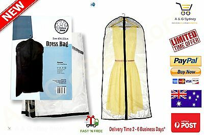 Long Dress Protective Bag Long Clothing Gawn Garment Dustproof Storage cover