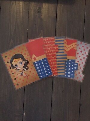 Wonder Woman PM Agenda Dividers