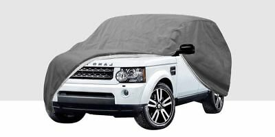 HEAVY DUTY FULLY WATERPROOF FULL CAR COVER COTTON LINED - Size XL 4X4