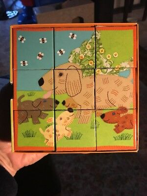 Baby Animals Block Puzzle by Mudpuppy & Barefoot Books