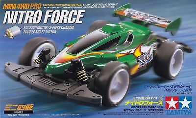 Tamiya Mini 4Wd Pro Series Nitro Force - Kit Montaggio 1/32 - Item 18608