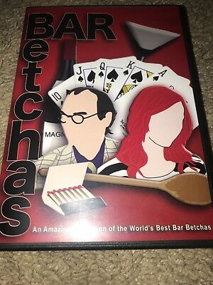 Bar Tricks Bar Betchas by MAGIC MAKERS 25 Different Tricks DVD Simon Lovell NEW