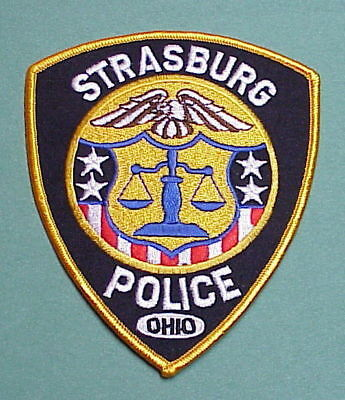 Strasburg  Ohio  Oh   Police Patch   Free Shipping!!!