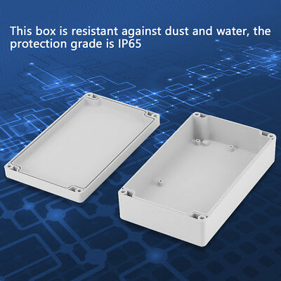 1pcs Waterproof Instrument Outdoor Electronic Junction Box w/Terminal Cable