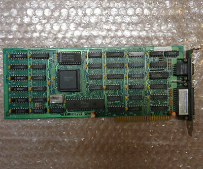 Vintage 1986 Hercules Graphics Card Plus, ISA monochrome video and parallel port