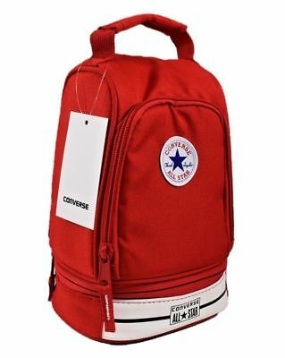 New W Tags Converse All Star Insulated Red Lunch Box Back 2 School