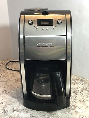 Cuisinart Grind and Brew 10-Cup Automatic Coffee Maker, Model DCC-690