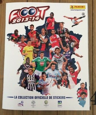Album Panini Foot 2013-14 France Complet Vignettes Stickers