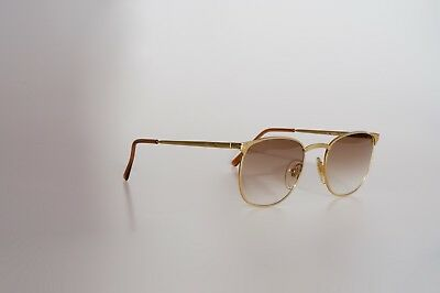 Occhiali vintage PERSOL RATTI Alya DR Gold Plated New Sunglasses Gold Lunette