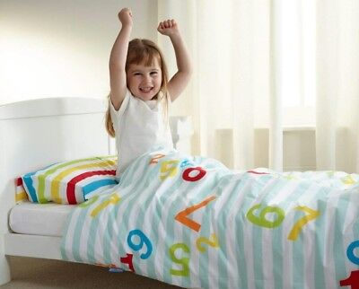 Gro To Bed Cot Bed Bedding Set Counting Sheep 70 X 140 cm