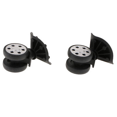 1 Pair Replacement Luggage Suitcase Wheels Swivel Casters Roller JY-604
