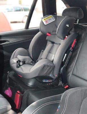 Baby Black Car Seat Cover Protector Mat Seat Under Child Seat Universal