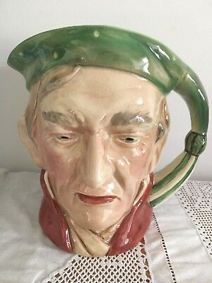 BESWICK WARE CHARACTER / TOBY JUG 'SCROOGE'  - LARGE  18cm - VERY NICE 372