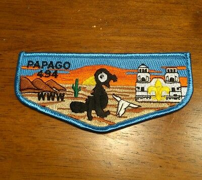 BSA Order of the Arrow. PAPAGO WWW 494  Brand New