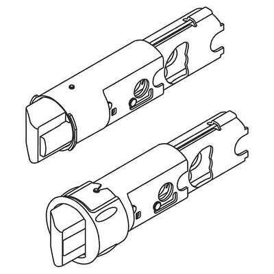 "Replacement Latch Core,2-3/8"" and 2-3/4"" KWIKSET 19833 SA PL 6WAL GR"