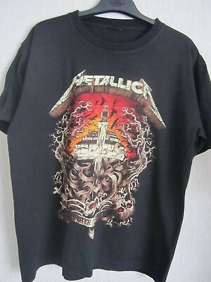 Metallica Master Of Puppets Tour Gig T Shirt Download Vintage Monsters Of Rock