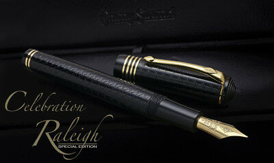 RARE Conway Stewart Celebration Raleigh LE fountain pen -Never Been Used