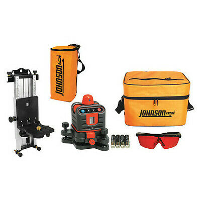 Rotary Laser Level,Int/Ext,Red,800 ft. JOHNSON 40-6507