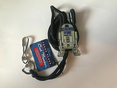Disney DLR Cast Exclusive Limited Release Bolo Lanyard - Star Wars R2D2