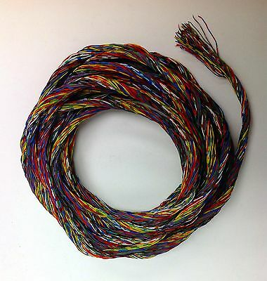 Rare! 36 Ft. X (50 Strands) Of Copper Telephone Wire