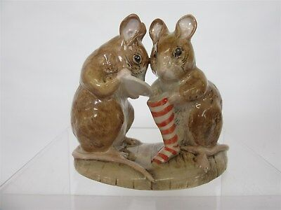 Royal Albert Beatrix Potter figurine The Christmas Stocking - Very collectable