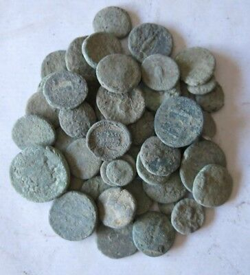 11a. Greek Coins LOT 50 - For Cleaning