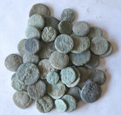 12a. Greek Coins LOT 50 - For Cleaning