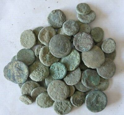 14a. Greek Coins LOT 50 - For Cleaning