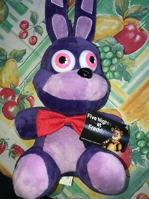"""FUNKO Five Nights At Freddy's 15"""" BONNIE PLUSH TOY AUTHENTIC NEW VAULTED!"""