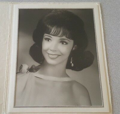 Vintage Photo Pinup Beautiful Women Black And White 1960's