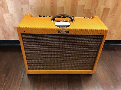 Fender Hot Rod Deluxe 112 Enclosure Lacquered Tweed Loading Zoom