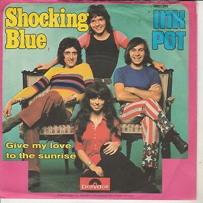 "SHOCKING BLUE - Single ""Inkpot"""