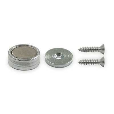 ZORO SELECT 10E830 Latch and Holding Magnet,10 lb Pull