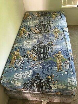 Star Wars - Vintage Bed Sheets and Pillow Cases - Twin Bed Set