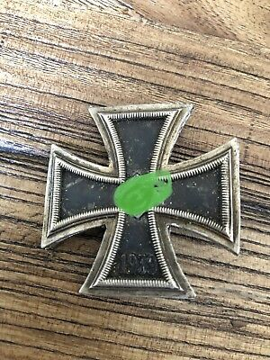 WW1 German Iron Cross First Class, EK1, Badge, Pin, Medal