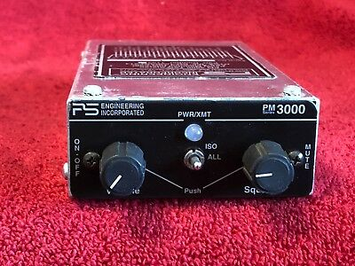 Ps Engineering Pm 3000 Panel Mount Stereo Intercom P/n 11932