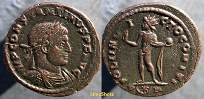 Ancient Roman Coin - Constantine the Great - Sol Reverse - Arles Mint