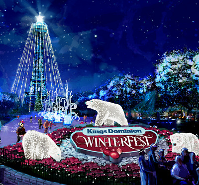 Kings Dominion Winterfest Tickets $22  A Promo Discount Tool