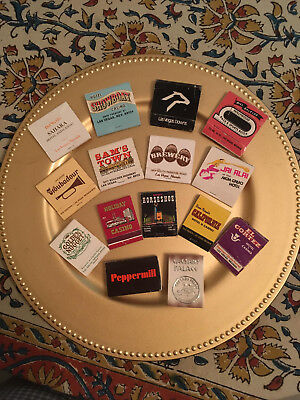 Las Vegas Nevada matchbook covers collectible