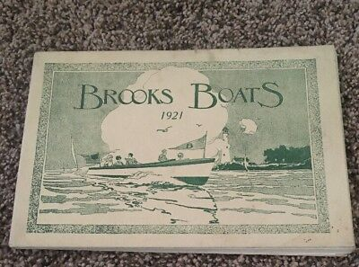 Brooks boats 1921 catalog number 37 Saginaw, Michigan