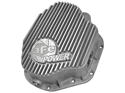 AFE POWER 46-70030 Rear Differential Cover Raw Finish Street Series for Dodge