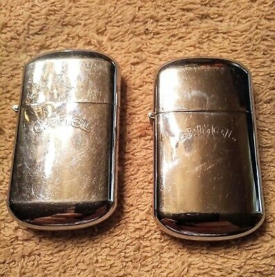 CAMEL Cigarette Lighters Retro Two Chrome maybe lite once
